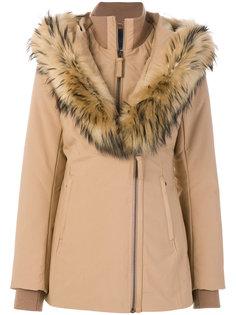 дутое пальто с капюшоном  Mackage