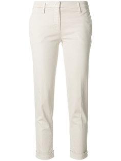 укороченные строгие брюки  Aspesi