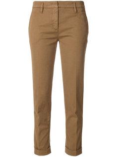 строгие укороченные брюки  Aspesi