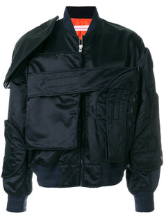 куртка-бомбер с карманами Walter Van Beirendonck