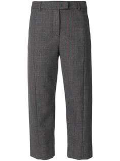 checked cropped trousers  Alberto Biani