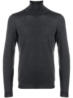 свитер с отворотной горловиной Boss Hugo Boss