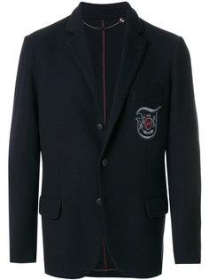 пиджак с заплаткой с логотипом Jo No Fui