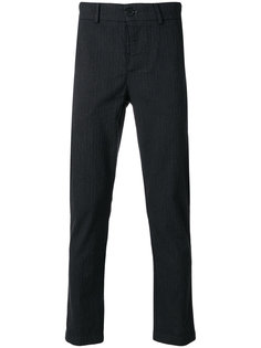укороченные брюки в тонкую полоску  Vivienne Westwood Anglomania