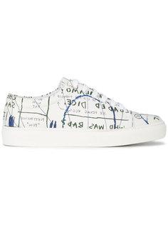 кеды с принтом Rome Pays Jean-Michel Basquiat X Browns