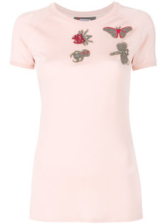 футболка с вышивкой Jo No Fui