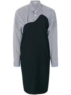 платье-рубашка с контрастным дизайном Aalto