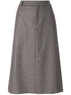 классическая юбка А-образного силуэта A.P.C.