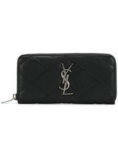 College zip around wallet Saint Laurent