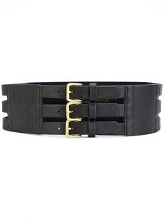 ремень с тремя пряжками B-Low The Belt