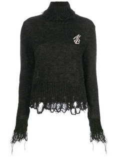 свитер с бахромой Marco Bologna