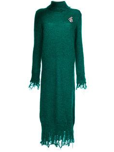 вязаное платье с высоким воротником Marco Bologna