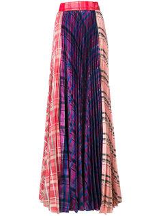 юбка макси с плиссировкой  Daizy Shely