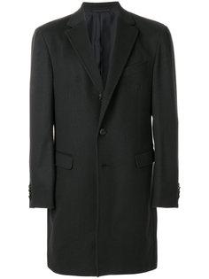 однобортное пальто Z Zegna