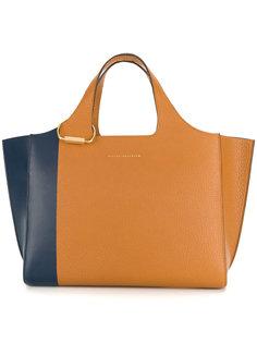 двухцветная сумка-тоут Victoria Beckham
