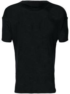 футболка с вырезом-лодочкой Mackintosh 0001