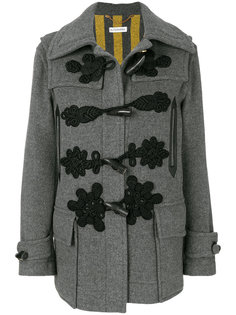 пальто с вышитыми деталями и продолговатыми пуговицами Altuzarra