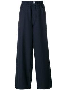 расклешенные классические брюки Sunnei