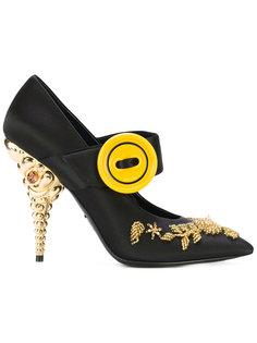 декорированные туфли-лодочки Prada