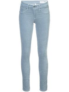 бархатные джинсы скинни  Rag & Bone /Jean