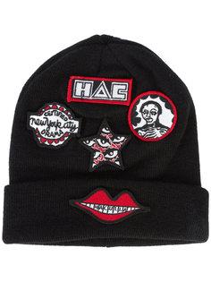 шапка с заплатками Bennie  Haculla
