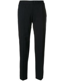 классические приталенные брюки Alberto Biani