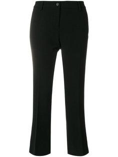 расклешенные приталенные брюки Alberto Biani