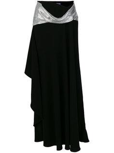 асимметричная юбка с цепочной отделкой JW Anderson