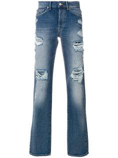 джинсы с потертой отделкой Htc Hollywood Trading Company