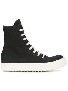 vegan hi top ramone sneakers Rick Owens DRKSHDW