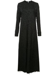 платье с необработанными краями Yang Li