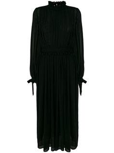 pleated maxi dress MSGM