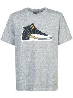 футболка с аппликацией в виде кроссовки Mostly Heard Rarely Seen 8-Bit