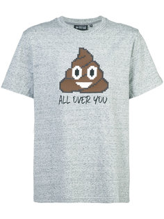 футболка с аппликацией All Over You Mostly Heard Rarely Seen 8-Bit