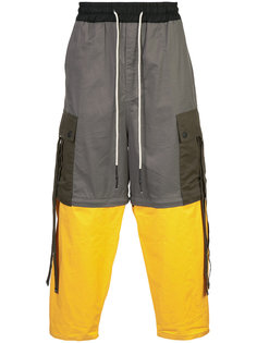 брюки в стиле колор блок Mostly Heard Rarely Seen