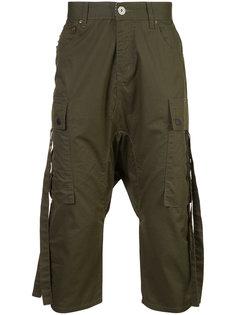 укороченные брюки карго Mostly Heard Rarely Seen