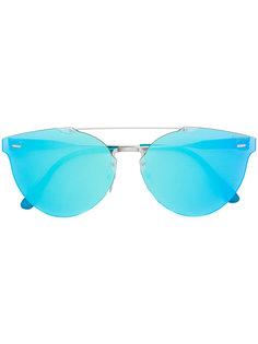 солнцезащитные очки Tuttolente Giaguaro с зеркальными линзами Retrosuperfuture