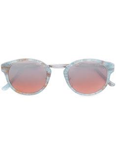 солнцезащитные очки Panamá Onice Azzurro с мраморным эффектом Retrosuperfuture
