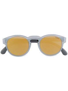 круглые солнцезащитные очки с двухцветными линзами Retrosuperfuture