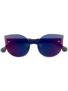массивные солнцезащитные очки Tuttolente Lucia с инфракрасными линзами Retrosuperfuture