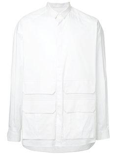 рубашка с карманами с клапанами Juun.J