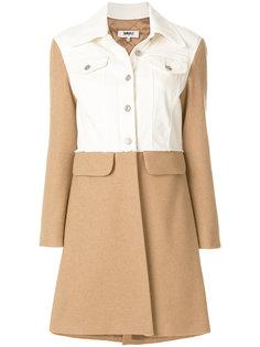 пальто колор блок  Mm6 Maison Margiela