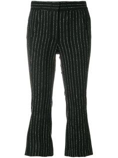 укороченные брюки в полоску  Hache