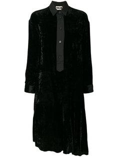 расклешенное платье-рубашка  Hache
