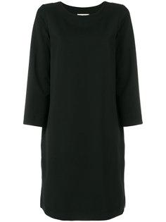 платье шифт с длинными рукавами  Hache