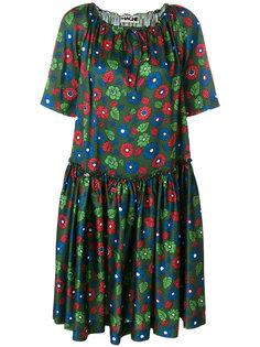 расклешенное платье с цветочным принтом  Hache