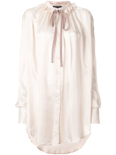 блузка с оборкой на воротнике  Ann Demeulemeester