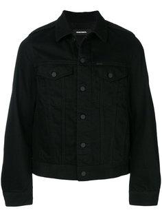 фактурная джинсовая куртка Diesel