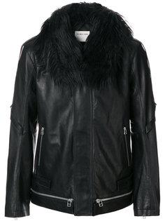 куртка с карманами на молнии Helmut Lang