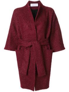 drawstring kimono coat  Gianluca Capannolo